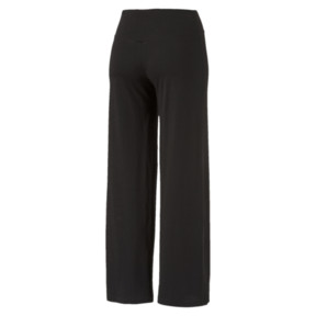 Thumbnail 3 of Women's Transition Flared Pants, Cotton Black, medium