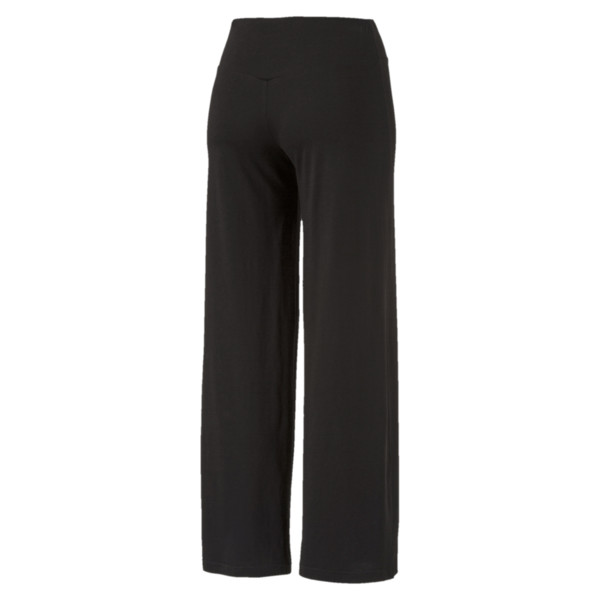 Women's Transition Flared Pants, Cotton Black, large