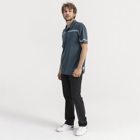 Thumbnail 3 of Looping Men's Golf Polo, Gibraltar Sea Heather, medium