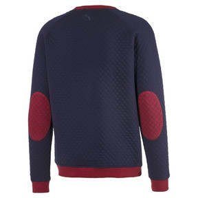 Thumbnail 6 of Sweat Golf matelassé pour homme, Rhubarb Heather, medium