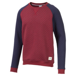 Thumbnail 5 of Sweat Golf matelassé pour homme, Rhubarb Heather, medium