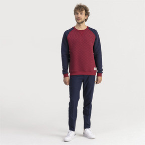 Thumbnail 3 of Sweat Golf matelassé pour homme, Rhubarb Heather, medium