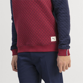 Thumbnail 4 of Sweat Golf matelassé pour homme, Rhubarb Heather, medium