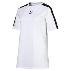 Miniatura 4 de Camiseta Classics T7 para mujer, Puma White, mediano