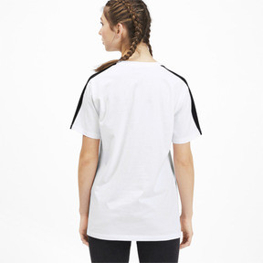 Miniatura 2 de Camiseta Classics T7 para mujer, Puma White, mediano