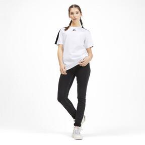 Miniatura 3 de Camiseta Classics T7 para mujer, Puma White, mediano