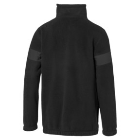 Thumbnail 2 of BMW M Motorsport RCT Men's Tech Fleece Pullover, Puma Black, medium