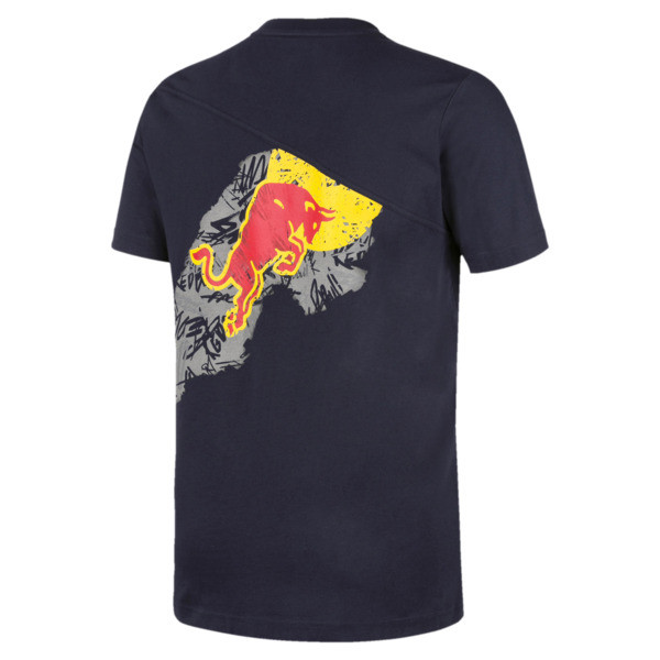 Camiseta Red Bull Racing Dynamic Bull para hombre, NIGHT SKY, grande