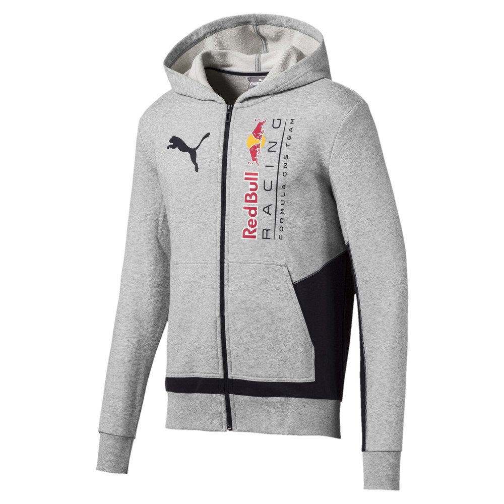 Image Puma RBR Logo Hooded Men's Sweat Jacket #1