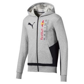 Chaqueta deportiva con capucha y logo de hombre RBR