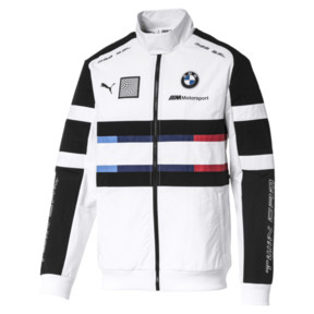 Thumbnail 1 of BMW M Motorsport Street Men's Woven Jacket, Puma White, medium