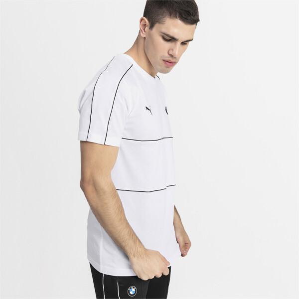 BMW M Motorsport T7 T-shirt voor mannen, Puma White, large