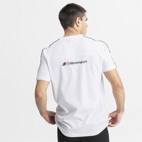 Thumbnail 2 van BMW M Motorsport T7 T-shirt voor mannen, Puma White, medium