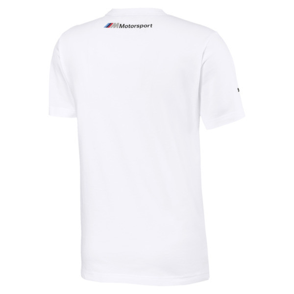 d3af6bb21b BMW M Motorsport Logo Herren T-Shirt | Puma White | PUMA BMW ...