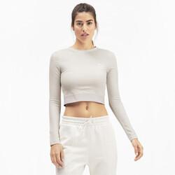 CLASSICS Kısa Kesim Kadın Sweatshirt