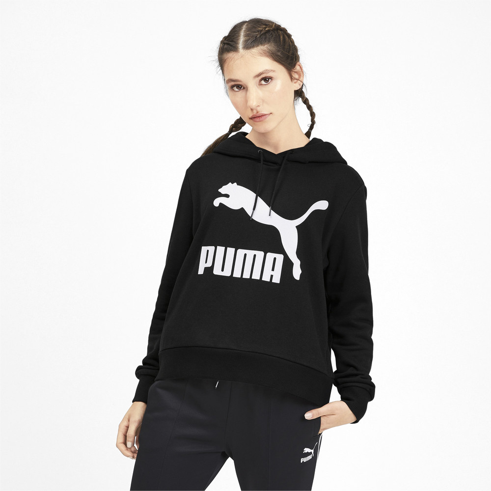 Image PUMA Classics Logo Women's Hoodie #1