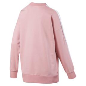Thumbnail 5 of Classics T7 Crew Neck Women's Sweater, Bridal Rose, medium
