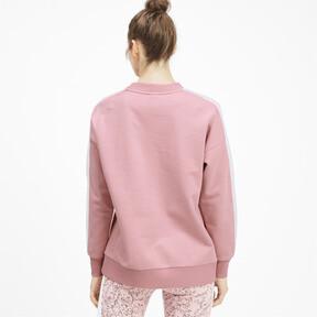 Thumbnail 2 of Classics T7 Crew Neck Women's Sweater, Bridal Rose, medium