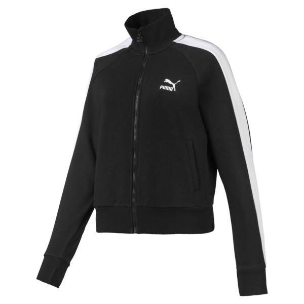Classics T7 Damen Trainingsjacke, Puma Black, large