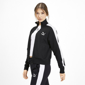 Thumbnail 2 of Classics T7 Women's Track Jacket, Puma Black, medium