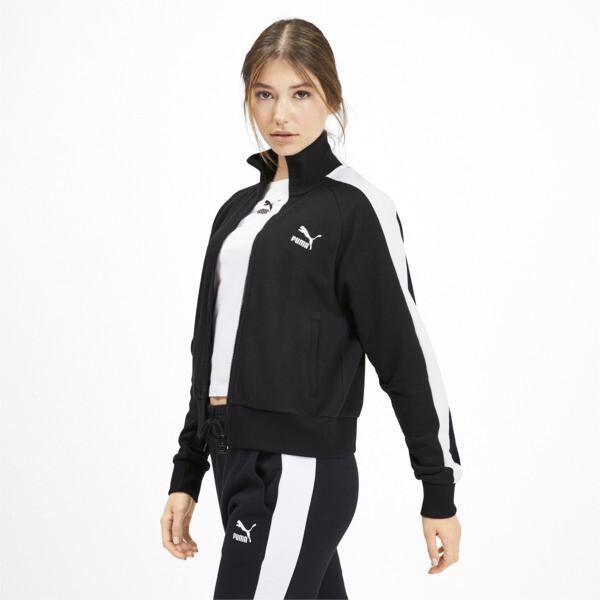 Classics T7 Women's Track Jacket, Puma Black, large