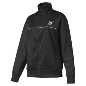 Thumbnail 1 of Classics Poly Women's Track Jacket, Puma Black, medium