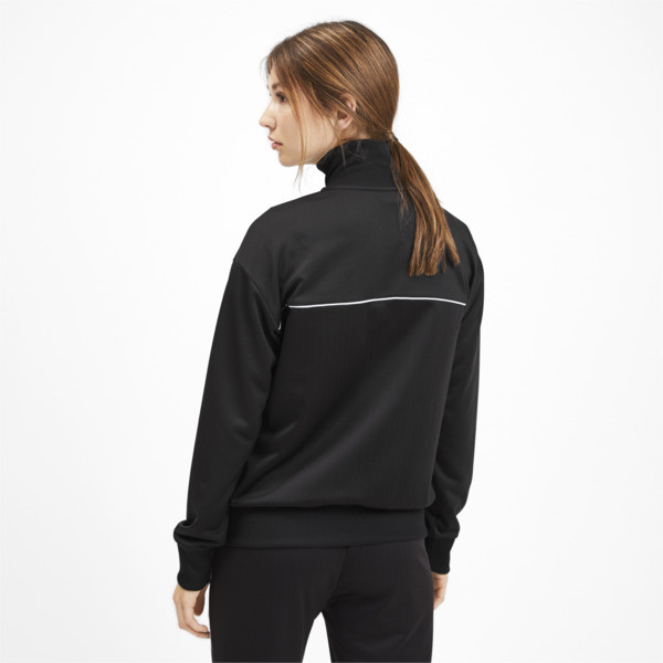 Classics Poly Women's Track Jacket, Puma Black, large