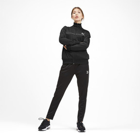 Thumbnail 4 of Classics Poly Women's Track Jacket, Puma Black, medium