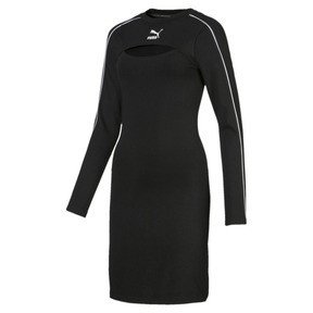 Thumbnail 4 of Classics Damen Kleid, Puma Black, medium