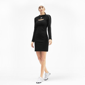 Thumbnail 3 of Classics Damen Kleid, Puma Black, medium
