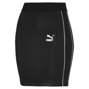 Thumbnail 4 of Classics Rib Women's Skirt, Puma Black, medium