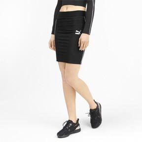 Thumbnail 1 of Classics Rib Women's Skirt, Puma Black, medium