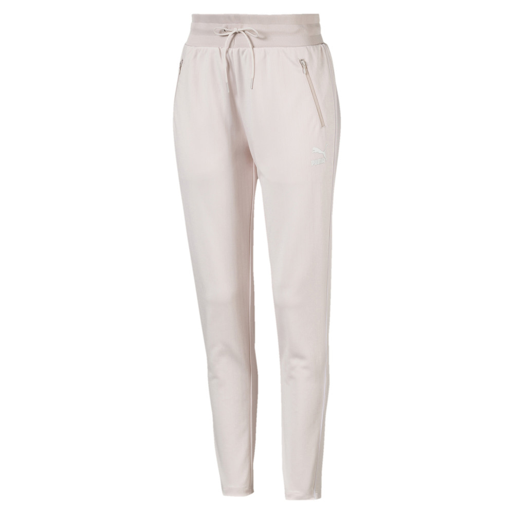 Image Puma Classics Poly Knitted Women's Track Pants #1
