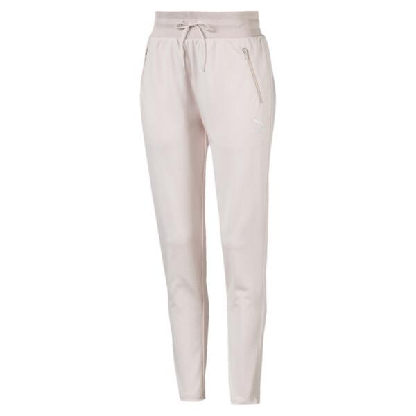 Pantalones deportivos Classics de poliéster para mujer, Pastel Parchment, grande
