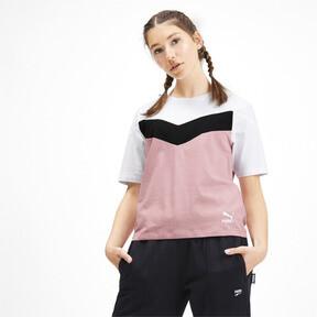 Miniatura 2 de Camiseta PUMA XTG en colores combinados para mujer, Bridal Rose, mediano