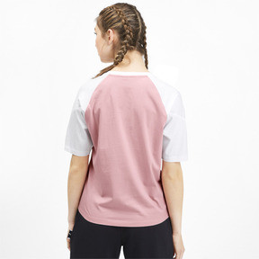 Miniatura 3 de Camiseta PUMA XTG en colores combinados para mujer, Bridal Rose, mediano