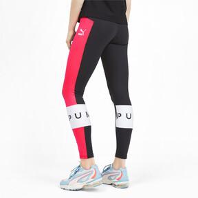 Miniatura 3 de Leggings PUMA XTG para mujer, Pink Alert, mediano