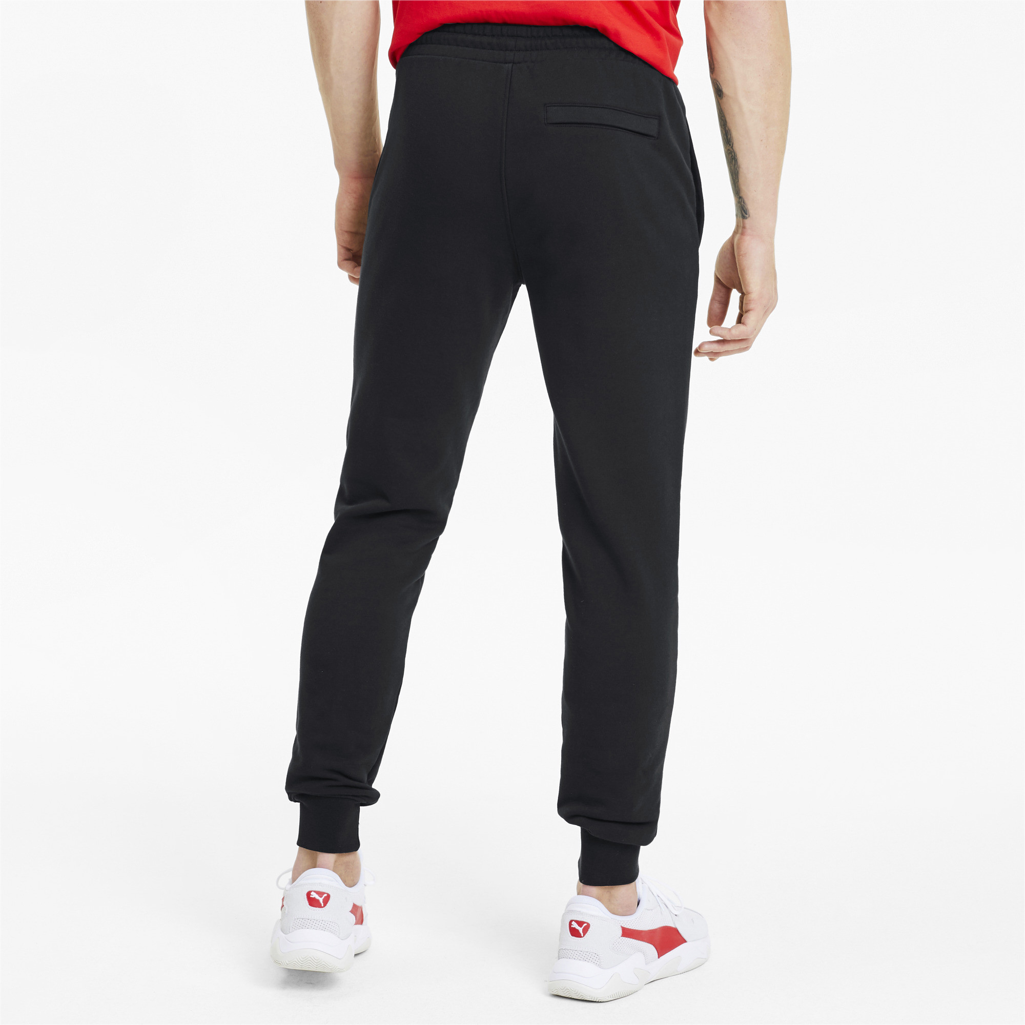 PUMA-Classics-Men-039-s-Cuffed-Sweatpants-Men-Knitted-Pants-Sport-Classics thumbnail 5