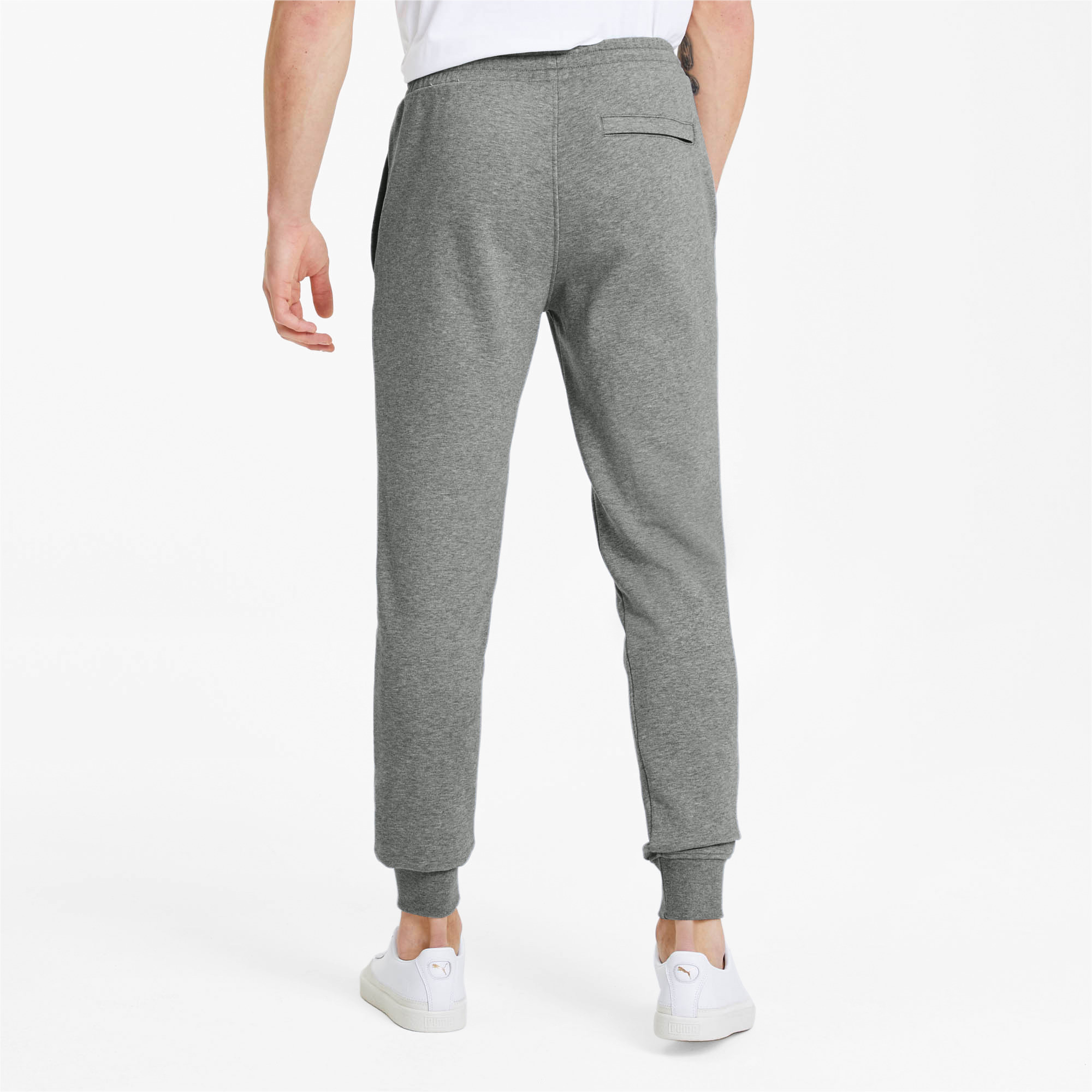 PUMA-Classics-Men-039-s-Cuffed-Sweatpants-Men-Knitted-Pants-Sport-Classics thumbnail 10