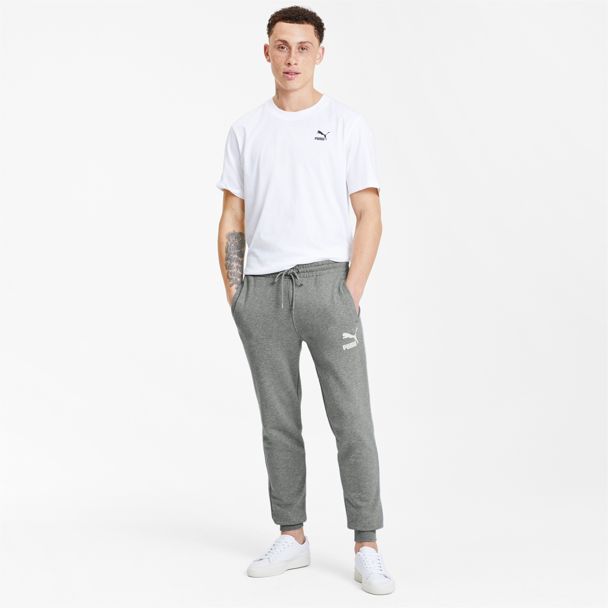 PUMA-Classics-Men-039-s-Cuffed-Sweatpants-Men-Knitted-Pants-Sport-Classics thumbnail 11