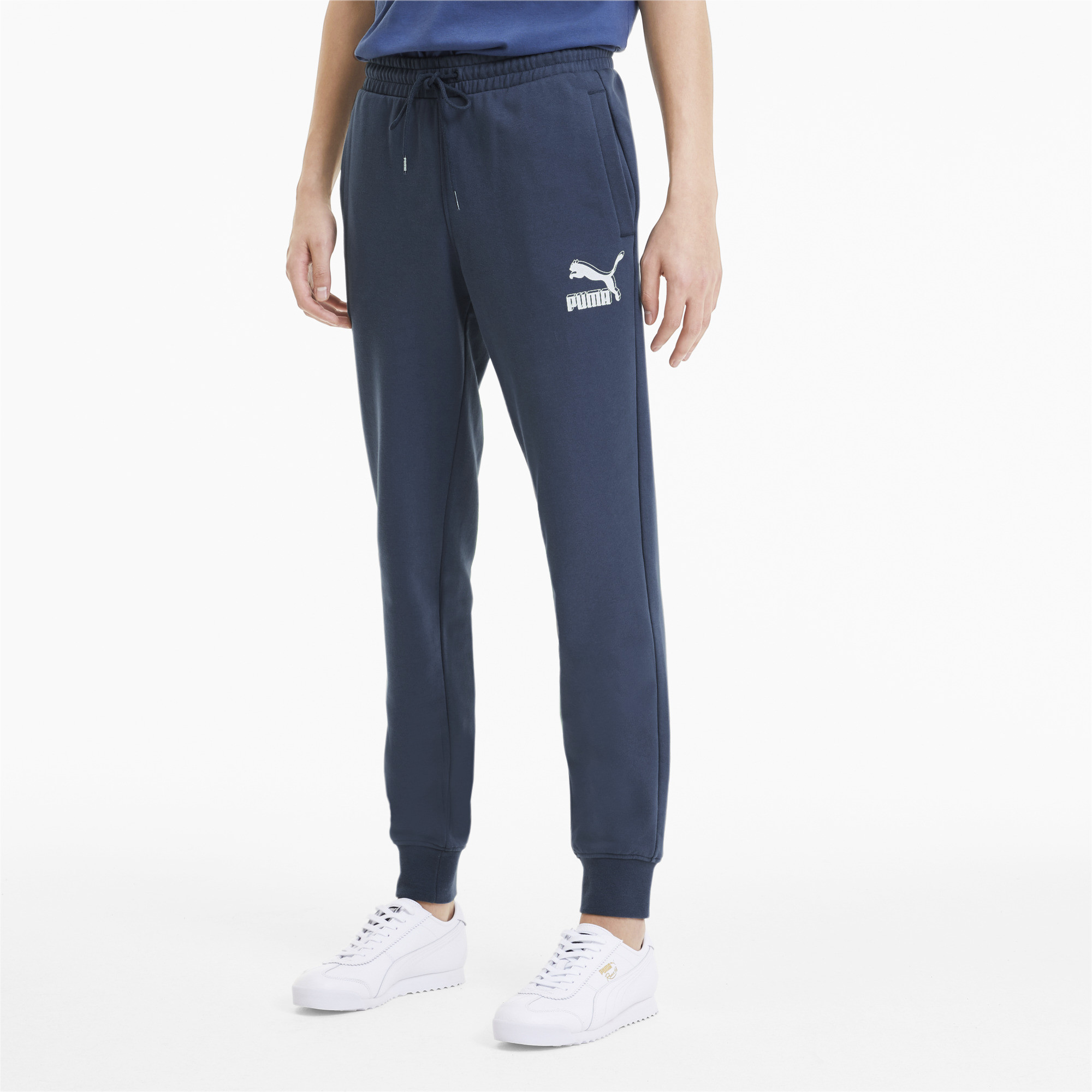PUMA-Classics-Men-039-s-Cuffed-Sweatpants-Men-Knitted-Pants-Sport-Classics thumbnail 14