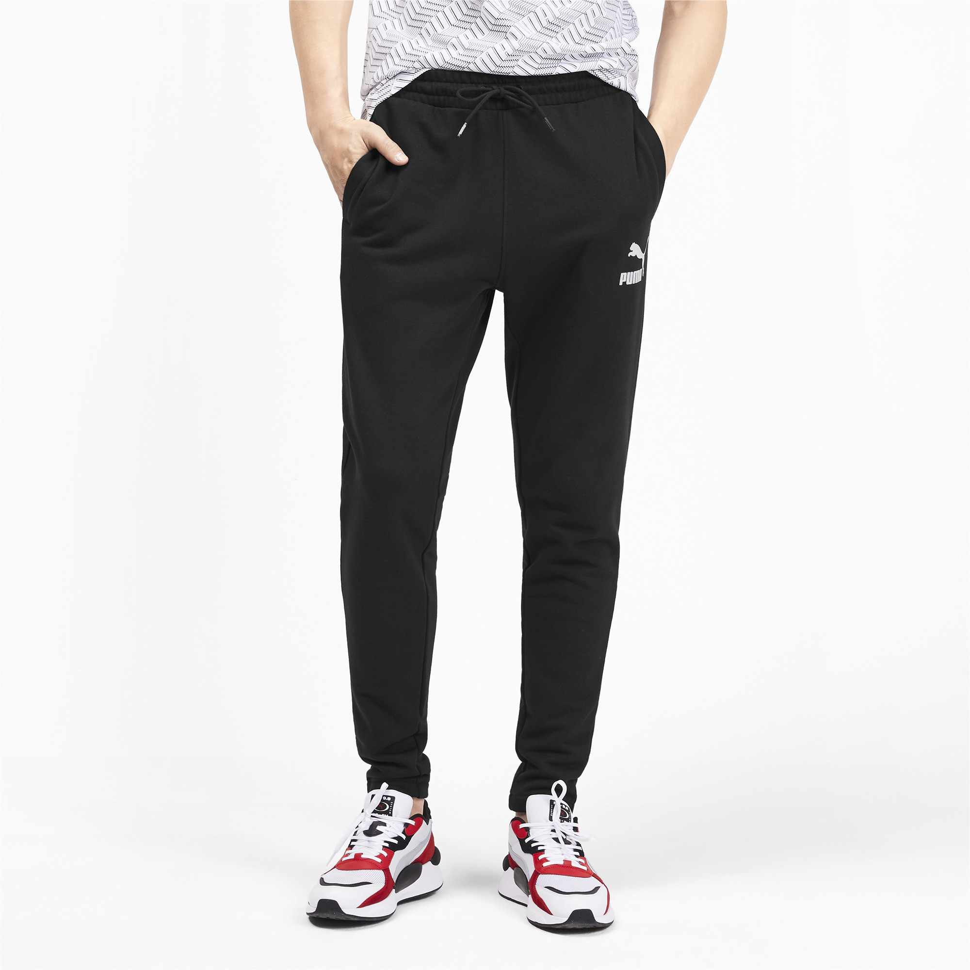 PUMA-Men-039-s-Classics-Sweatpants thumbnail 9