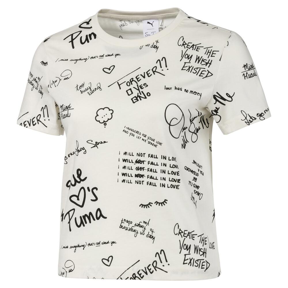 Görüntü Puma PUMA x SUE TSAI Desenli Kadın T-Shirt #1