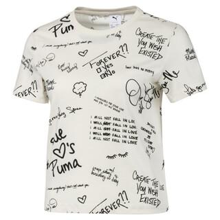 Görüntü Puma PUMA x SUE TSAI Desenli Kadın T-Shirt