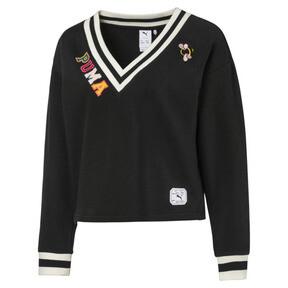PUMA x SUE TSAI Women's V-Neck Sweater
