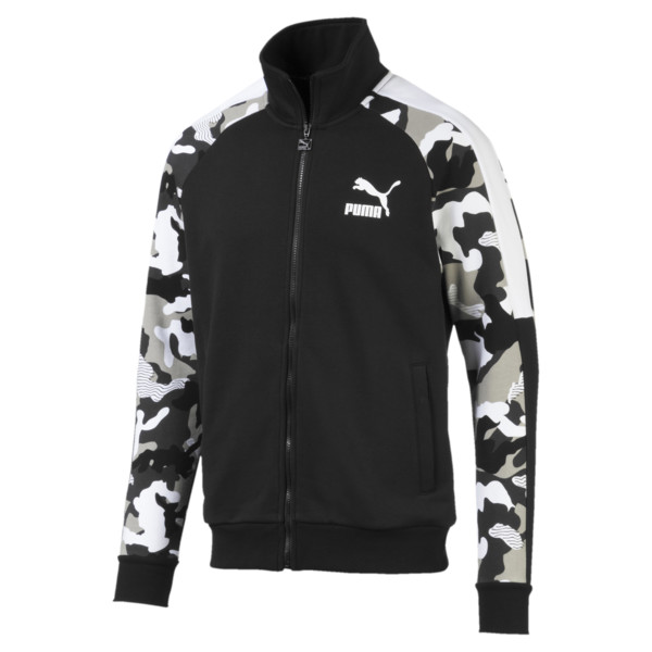 Chaqueta deportiva T7 AOP para hombre, Puma Black, grande
