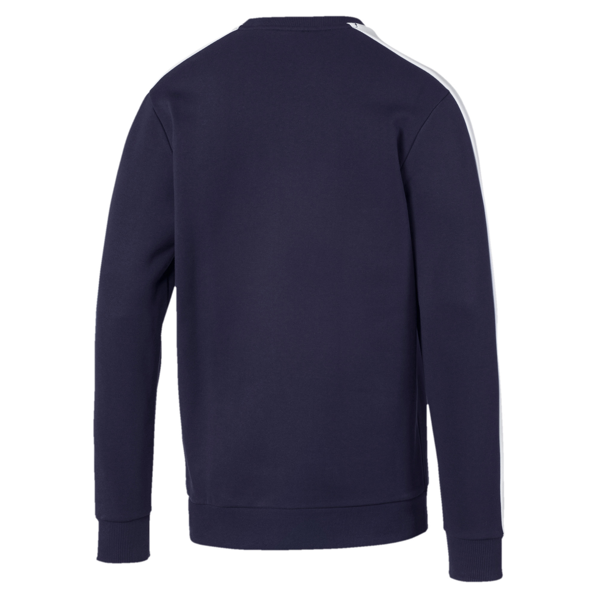 PUMA-Iconic-T7-Men-039-s-Fleece-Crewneck-Sweatshirt-Men-Sweat-Sport-Classics thumbnail 3