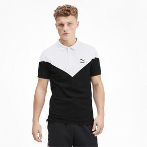 Miniatura 1 de Camiseta tipo polo MCS icónica de piqué para hombre, Puma Black, mediano