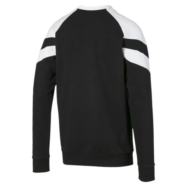 Iconic MCS Crew Men's Sweater, Puma Black, large