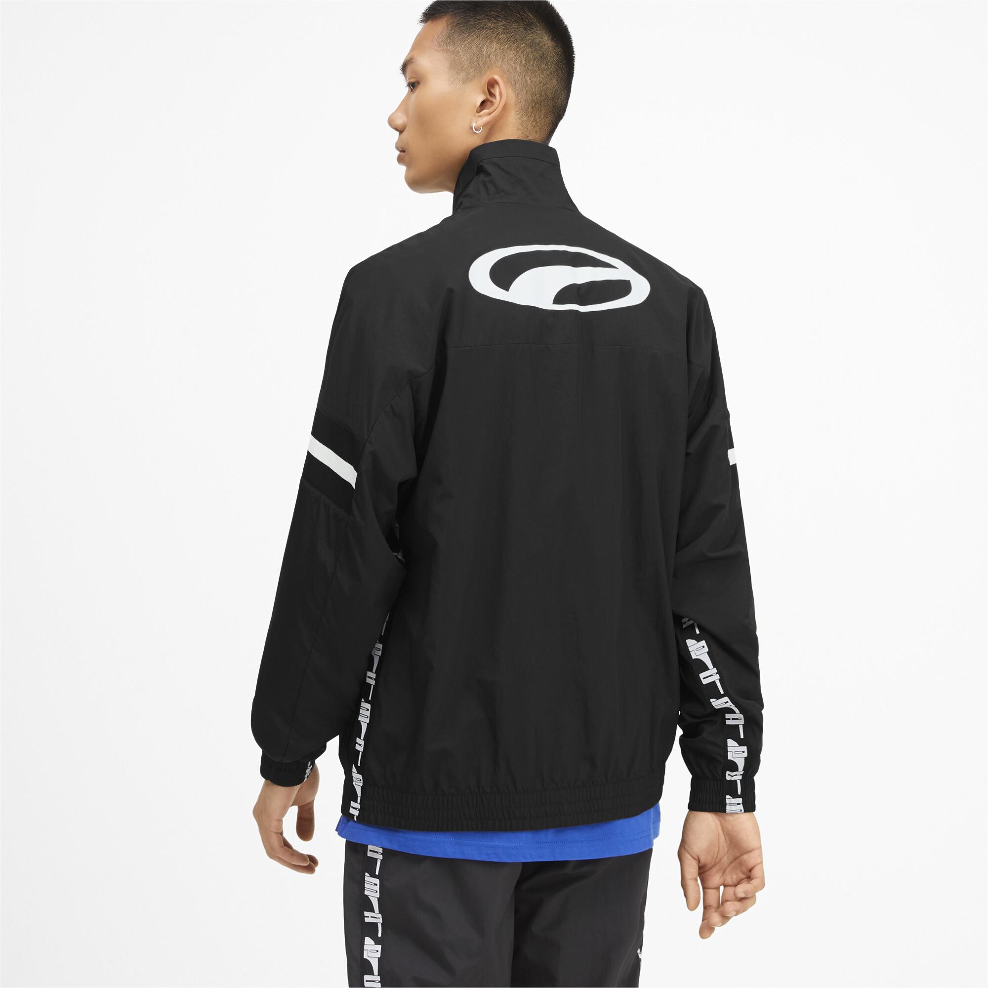 PUMA-PUMA-XTG-Men-039-s-Woven-Jacket-Men-Track-Jacket-Sport-Classics thumbnail 10